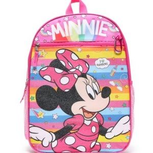 Disney Minnie Mouse  5 Piece Backpack Set